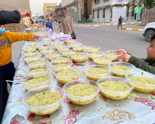 Kerbala Iraq – Hot meals for the needy