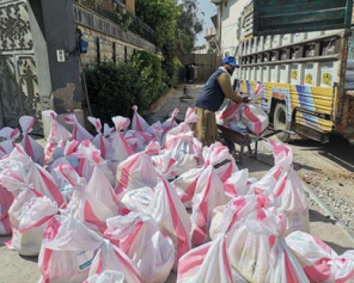 Food Parcels Distribution in Pakistan
